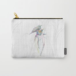 Kingfisher 1c. Color lines on white background-(Red eyes series) Carry-All Pouch