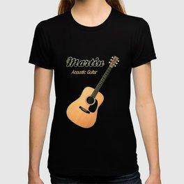 Wonderful Martin Acoustic Guitar  T-shirt