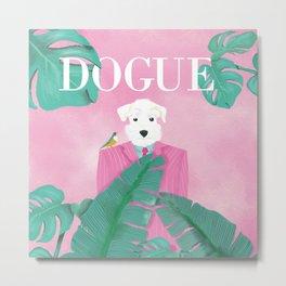 Dogue - Palms Metal Print