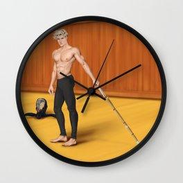 kendo practice partner Wall Clock