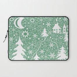 Lace Christmas pattern Laptop Sleeve