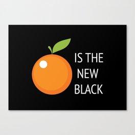 The New Black Canvas Print