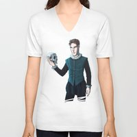 hamlet V-neck T-shirts featuring Hamlet Batch by enerjax