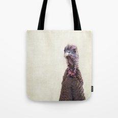Turkey Portrait Tote Bag