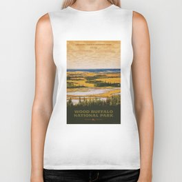 Wood Buffalo National Park Biker Tank