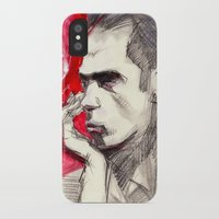 nick cave iPhone & iPod Cases featuring Nick Cave by Smog