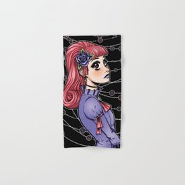 Pink Hair Gothic Lolita Hand & Bath Towel