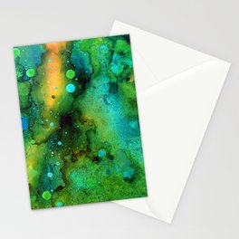 Green Smoke Stationery Cards