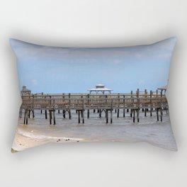 Peaceful Waterfront Rectangular Pillow
