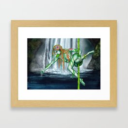 Pole Creatures - Water Nymph Framed Art Print