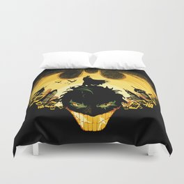 Dark Knightmare Duvet Cover