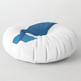 Origami Blue Whale Floor Pillow