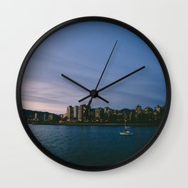 Lone Sailor Wall Clock