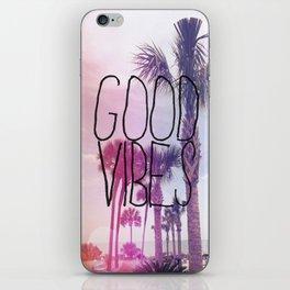 good vibes 2 iPhone Skin