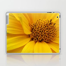 sunny yellow Laptop & iPad Skin