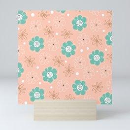 Blush Florals Mini Art Print