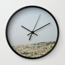 Morning over Nazareth - Fine Art Travel Photography Wall Clock