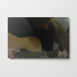Didn't Wanna Be Your Ghost. Metal Print
