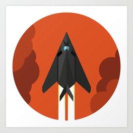 F-117 Nighthawk Art Print
