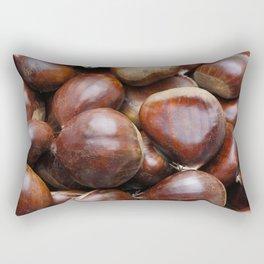 Sweet chestnuts Rectangular Pillow