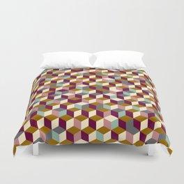 Cubic Pattern Duvet Cover