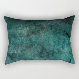 blue abyss /Agat/  Rectangular Pillow