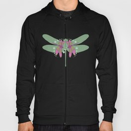 pattern with dragonflies 5 Hoody