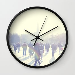 White İstanbul Wall Clock