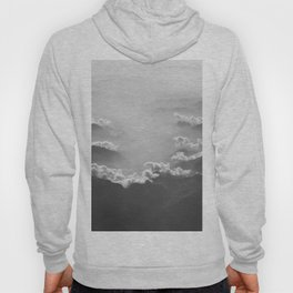 Clouds (Black and White) Hoody
