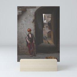 Jean-Léon Gérôme - The Guard Mini Art Print