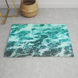 Sea Foam, Ocean Water, Water Pattern, Sea Texture, Abstract Ocean Surface Rug