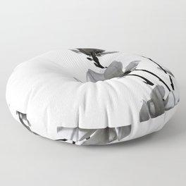 BLACK MAGNOLIA Floor Pillow