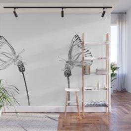 Best Buds Butterflies Wall Mural