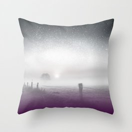 Ace Pride Throw Pillow