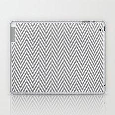 Grey Herringbone Laptop & iPad Skin