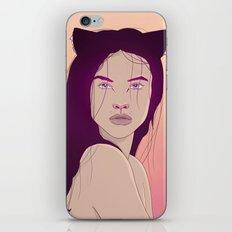 Velvet Lady iPhone & iPod Skin