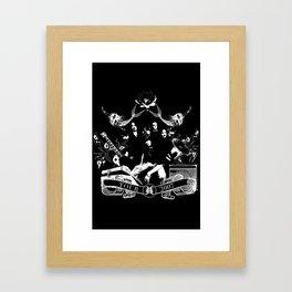 HDS 2007 Framed Art Print