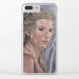 Ilithyia Clear iPhone Case