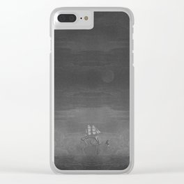 Automatisme Ambulatoire Clear iPhone Case