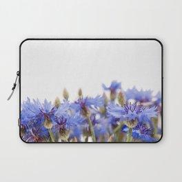 Bunch of blue cornflower flowerheads Laptop Sleeve