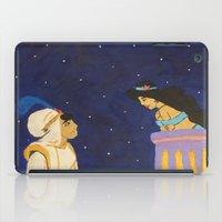 aladdin iPad Cases featuring Aladdin & Jasmine by Julia