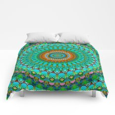 Geometric Mandala G388 Comforters