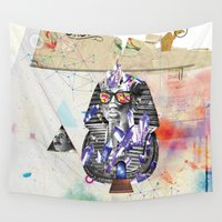 arab Wall Tapestries featuring Tuts formation by Mo.Awwad