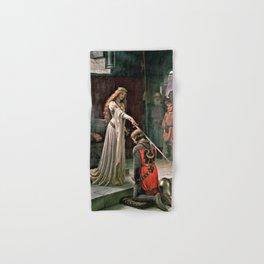 12,000pixel-500dpi - Edmund Blair Leighton - Accolade - Edmund Blair Leighton Hand & Bath Towel