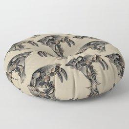 Ancient Warrior (Sabertooth Skull) Floor Pillow