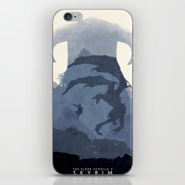 Skyrim (II) iPhone Skin
