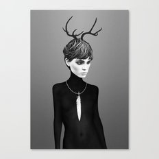 The Cold  Canvas Print