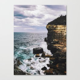 Off The Cliff Canvas Print