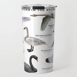Swans of the World Travel Mug