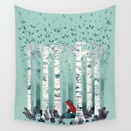 The Birches Wall Tapestry